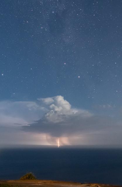Between heaven and ocean