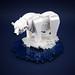 Lonely Polar Bear by LEGO 7