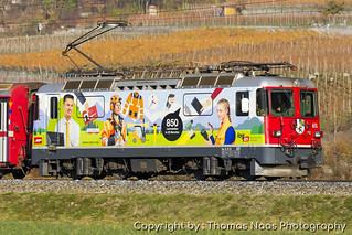 Rhätische Bahn (RhB), 611 : Log-In 2017