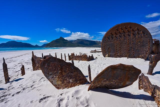 Kakapo shipwreck on Noordhoek Beach