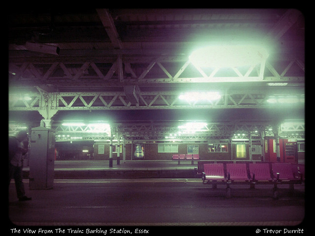 The View From The Train: Barking Station 2012-10-01-21-23-48