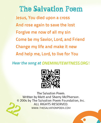 Oasis World Ministries - ONE MINUTE WITNESS (OMW)