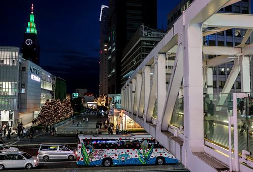 新宿 南新宿 shinjuku ドコモタワー sunset docomotower