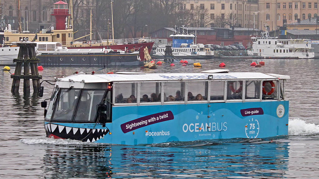 The M S Estelle Also Known As The Ocean Bus In Stockholm