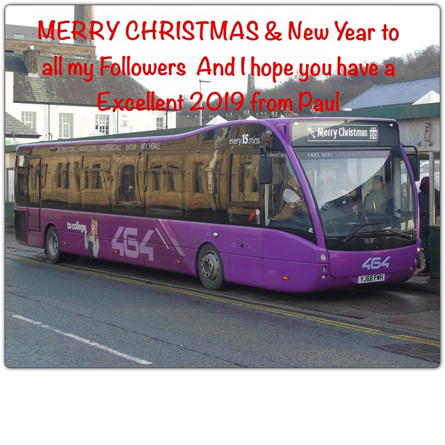 Merry Christmas & New Year to all my Followers and have a Excellent 2019 from Paul 🌟