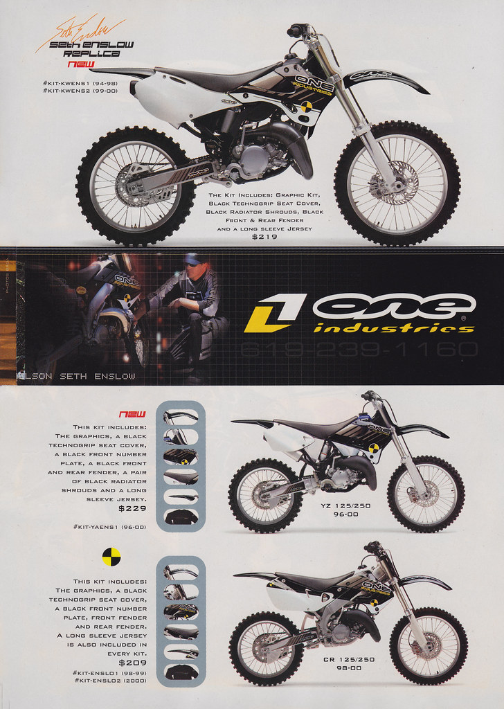 2000 One Industries Graphics Ad Page 5 Seth Enslow | Flickr