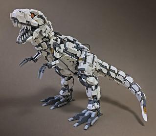 LEGO Mecha Tyrannosaur Mk2-10 | by ToyForce 120