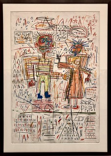 Self-Portrait with Suzanne, 1982, Jean-Michel Basquiat