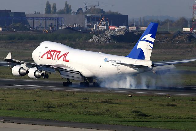 Astral Aviation (Air Atlanta Icelandic)  Boeing 747-48E(F/SCD) TF-AMU