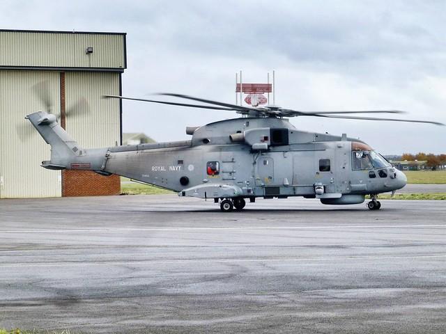 ZH853 :AgustaWestland AW101  Merlin HM.1 : Royal Navy.