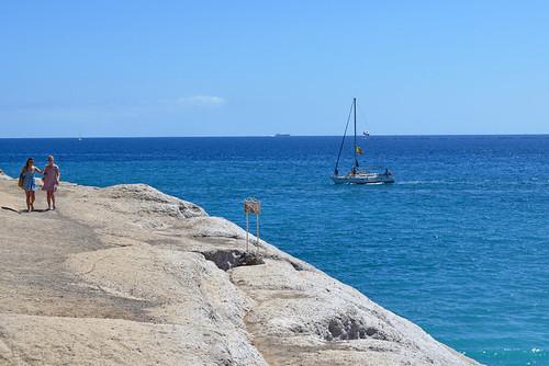 On holiday, July, Costa Adeje, Tenerife | by BuzzTrips