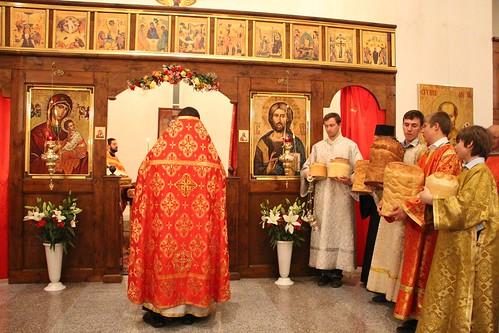 Пасхальное Богослужение в Свято-Никольском храме станицы Кавказской IMG_1466