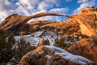 Landscape Arch, Christmas 2018 | by IntrepidXJ