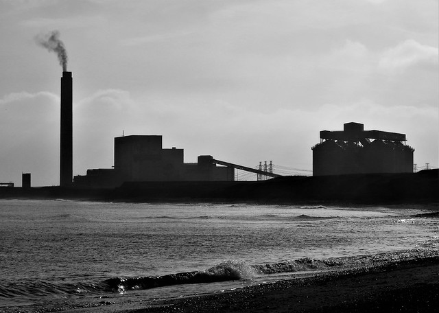 Lynemouth Power Station - Silhouette