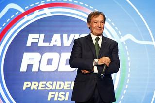 Flavio Roda, presidente FISI, alla Festa degli Azzurri. | by Official Photogallery