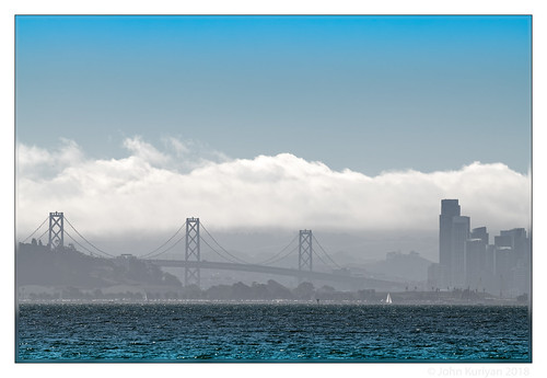 richmond california baybridge sanfrancisco treasureisland pointisabel sanfranciscobay fog