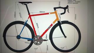 Sword bike geometry | by sausage22