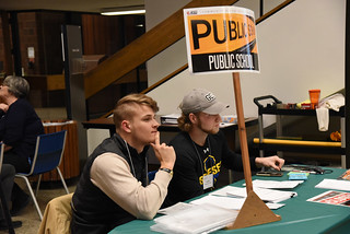 Thu, 11/15/2018 - 12:26 - Photograph from the Disrupting Poverty simulation, courtesy of GCC