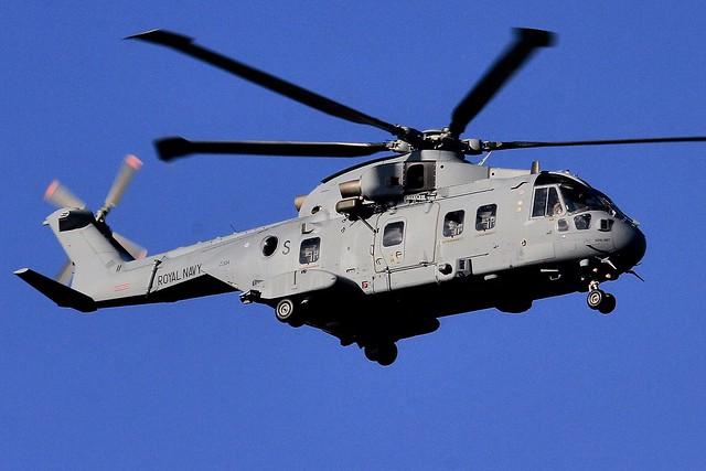 ZJ134 'S' AgustaWestland Merlin HC4: 3 Commando.RN.