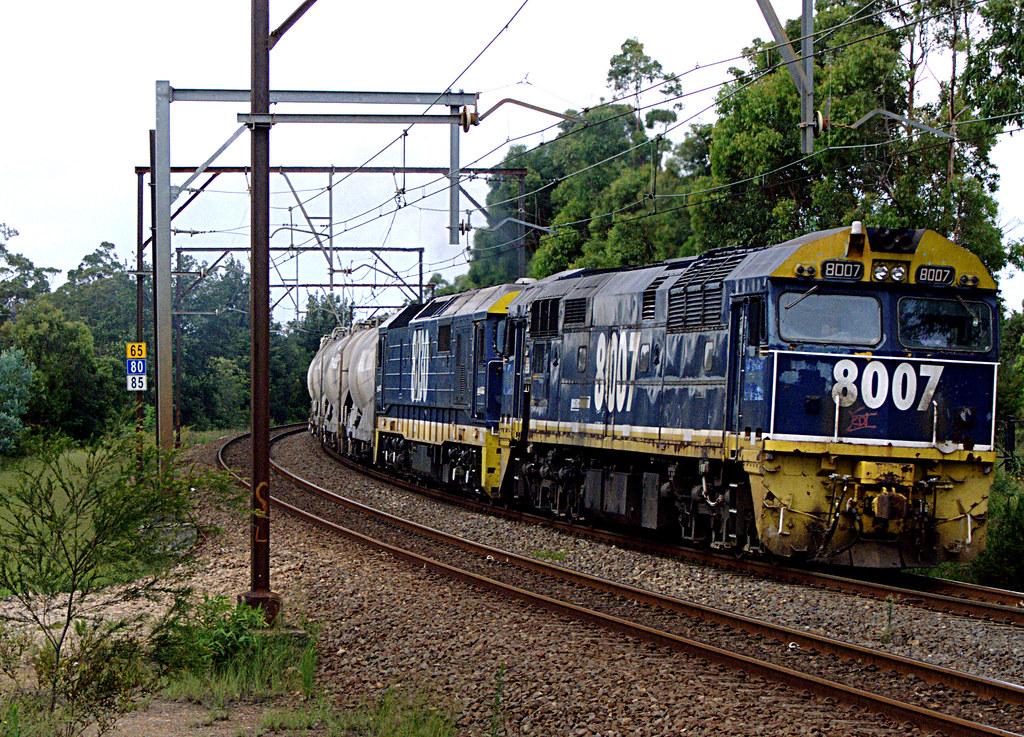 West Cement train