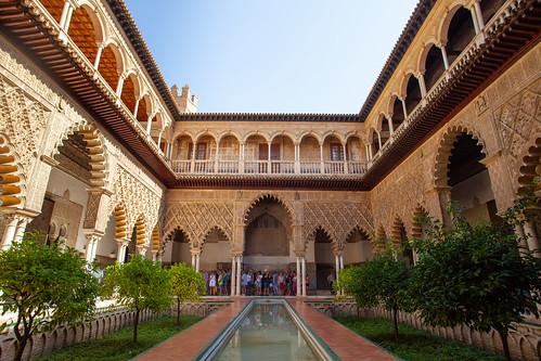 Alcazar courtyard | by Scalino