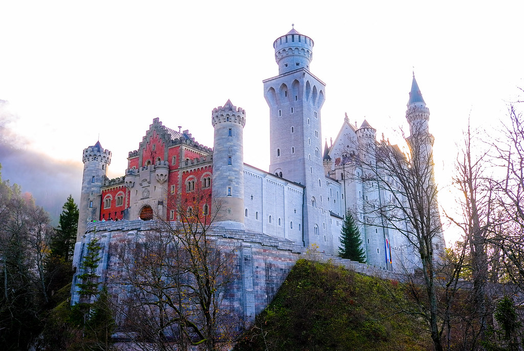 Germany - Schloss Neuschwanstein | en wikipedia org/wiki/Neu