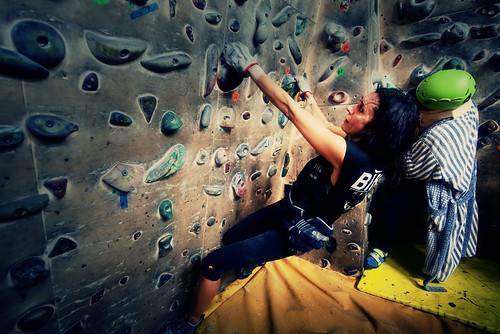 Fantasyclimbing corso di arrampicata il deposito di zio Paperone 32