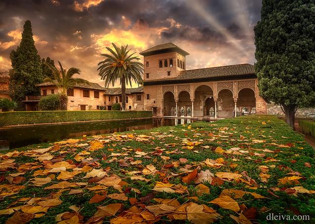 Palacio de El Partal, La Alhambra, Granada