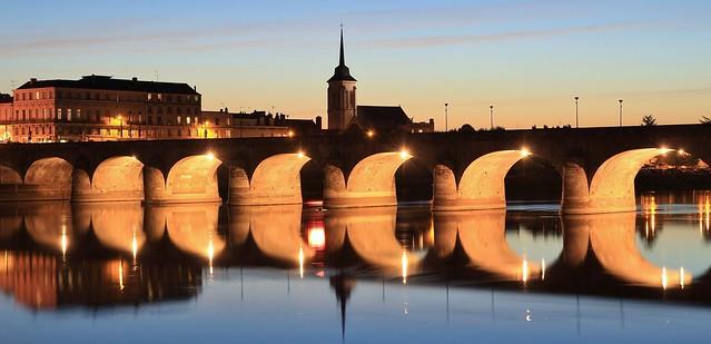 Saumur & pont Cessart, Maine-et-Loire