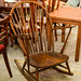 Solid wood rocking chair E120