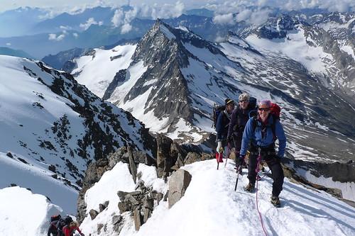 Wallis, gletsjertocht