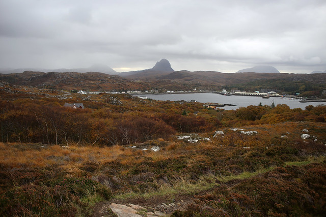 View back to Lochinver