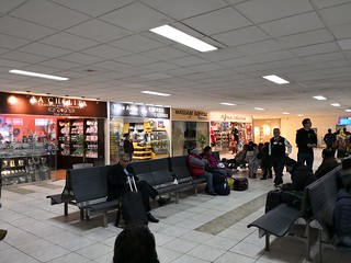 Waiting area before security | by A. Wee