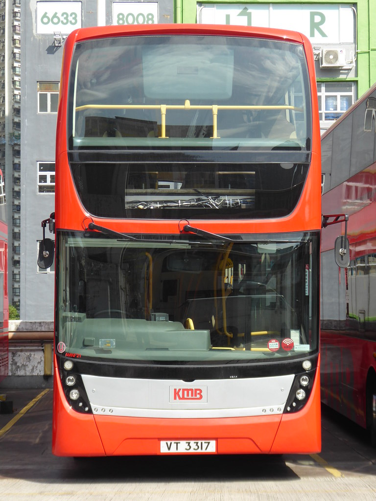 KMB VT 3317 (AMNF21) , MAN A29 with Gemilang workbody , st