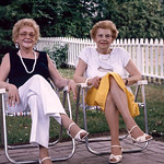 Edna Vevers and Mom
