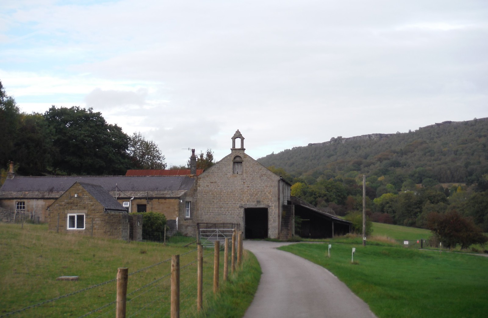 Old Sunday School, Stocking Farm, Calver SWC Walk 322 - Grindleford Circular (via Chatsworth House)