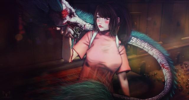 ✞ Miyasaki's Spirited Away ✞ ⒸNemmesea« Attribution
