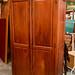 Large wood wardrobe E320