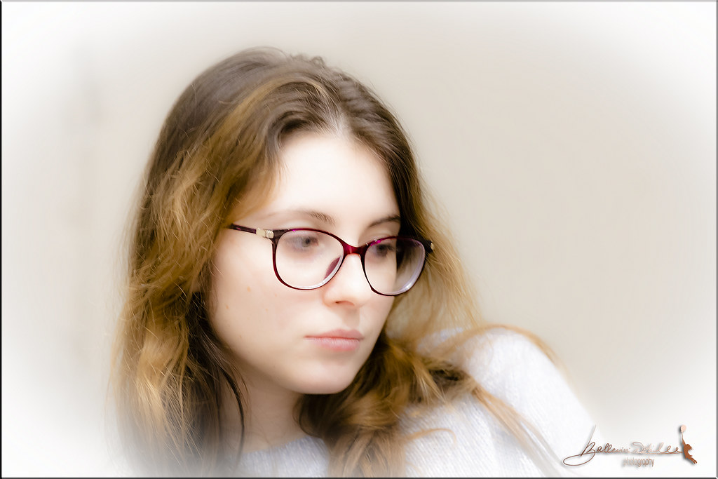 portrait with glasses