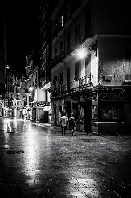 One night in Malaga