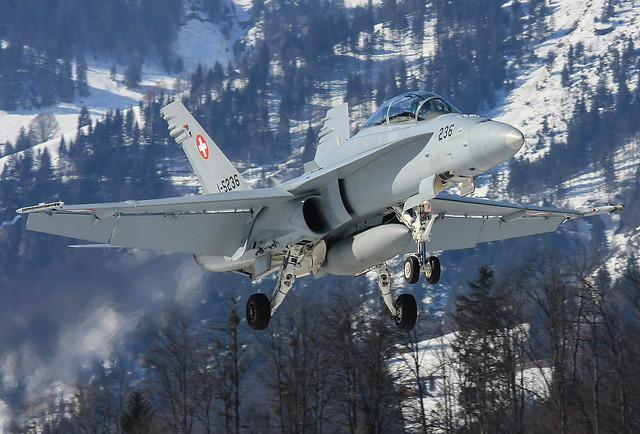 J-5236, McDonnell Douglas F/A-18D Swiss Air Force @ Meiringen LSMM