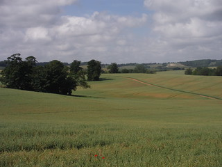 View from Hitchin Hill to Charlton SWC Walk 234 Hitchin Circular