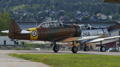 North American NA-88 AT-6D-NT Harvard III at Kjeller Air Show 2015 | by J.Comstedt
