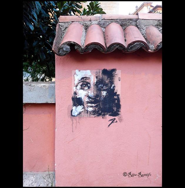 Garbatella. Street art by Jerico