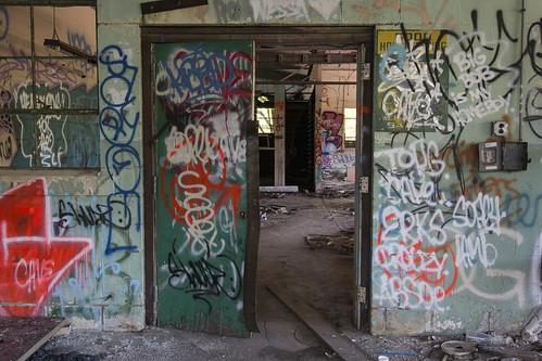 Double Door   by www.vanishingnewengland.com