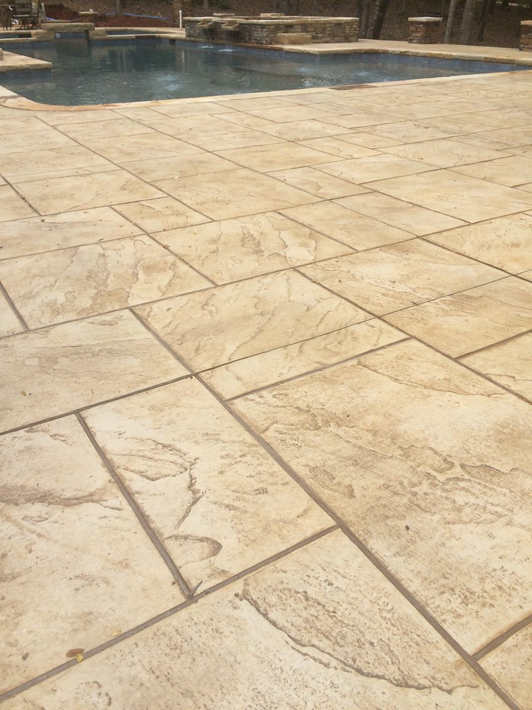 Stamped Concrete Patio Designs Photo Galleries