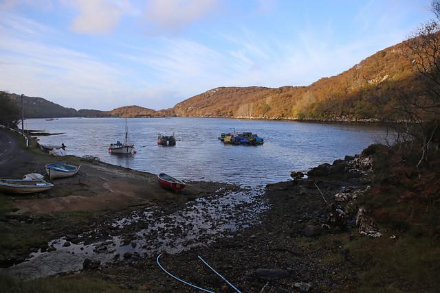 Boats on Loch Nedd