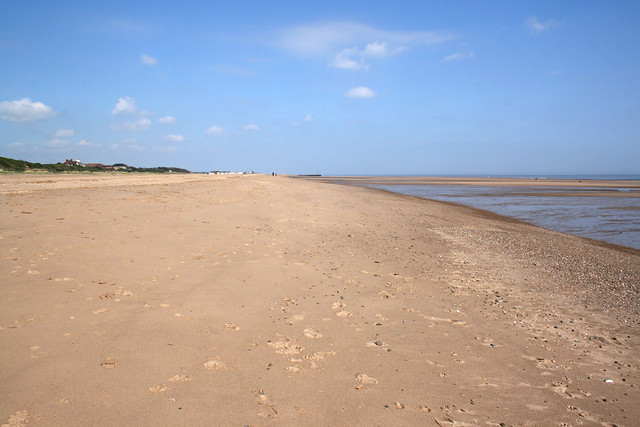 The beach at Chapel St Lenoards