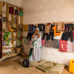 IOM Mauritania - Khadijetou in her shop, Flowers and Victims of trafficking