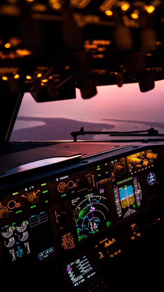 Phone Wallpaper Sunset 37 000 Feet Above Arcachon Bay Flickr